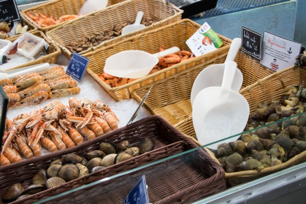 fruits de mer au vivier colleville
