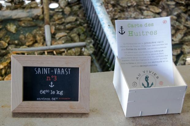 huitre saint vaast 3 au vivier