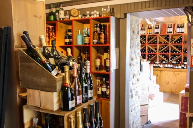 Le bouchon de bayeux cave à vins