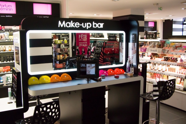 makeup bar beauty bar sephora caen