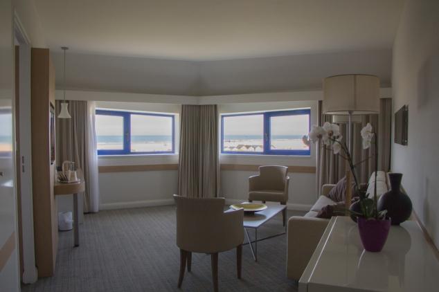 Suite vue mer Thalazur Ouistreham Hotel