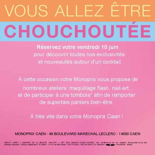 Beauty Week Monoprix Caen
