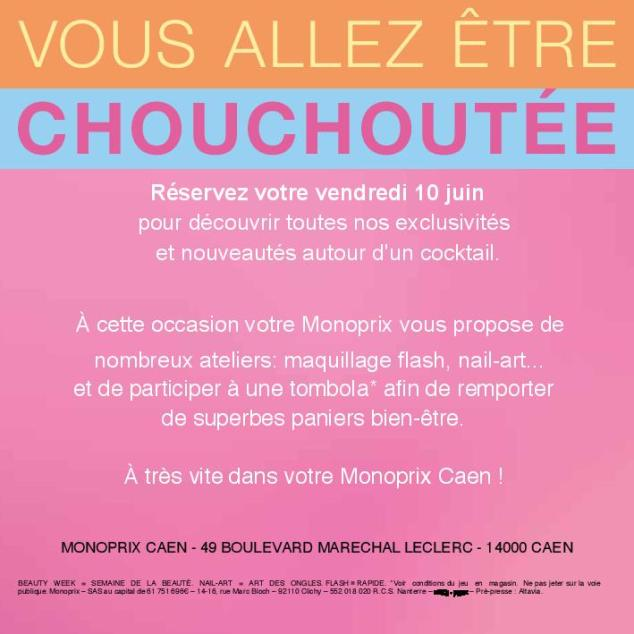 Beauty Week Monoprix Caen