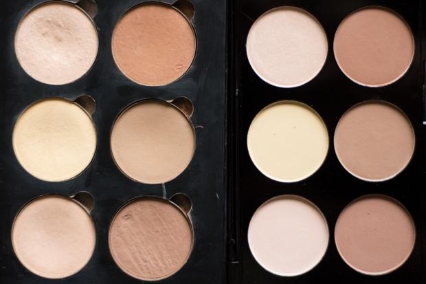 Ultra Contour Palette Makeup Revolution Duper Contour Kit ABH