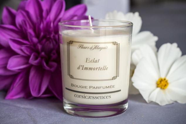 Bougie Fleurs de Maquis Corsica Essences