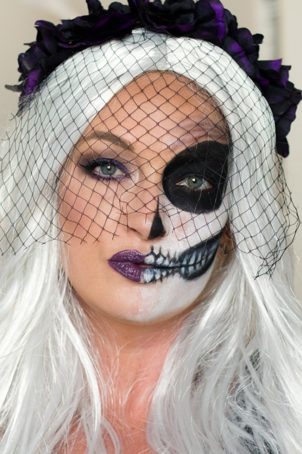 The Bride Of Death Halloween Makeup