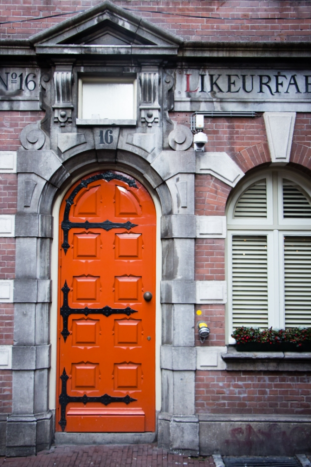 Door In Amsterdam