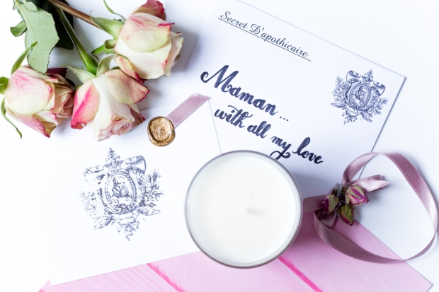 Fete Des Meres Bougie Secret DApothicaire Palais Des Roses