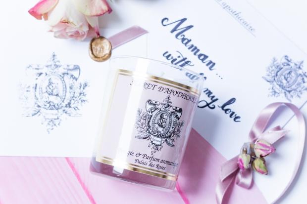 Secret D Apothicaire Bougie Palais Des Roses Fete Des Mers