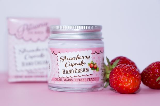Patisserie De Bain Creme Mains Cupcake Fraise