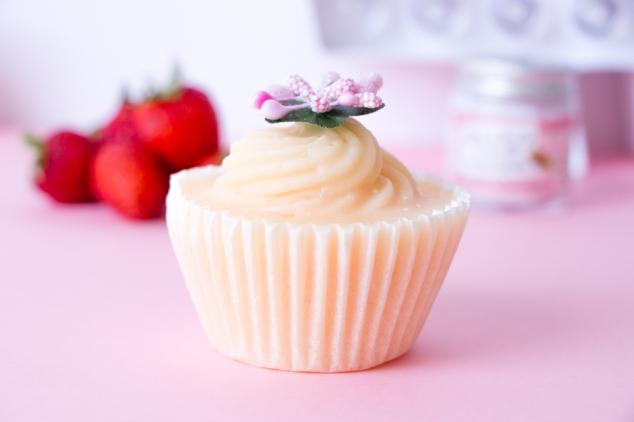 Patisserie De Bain Savon Cupcake Fraise