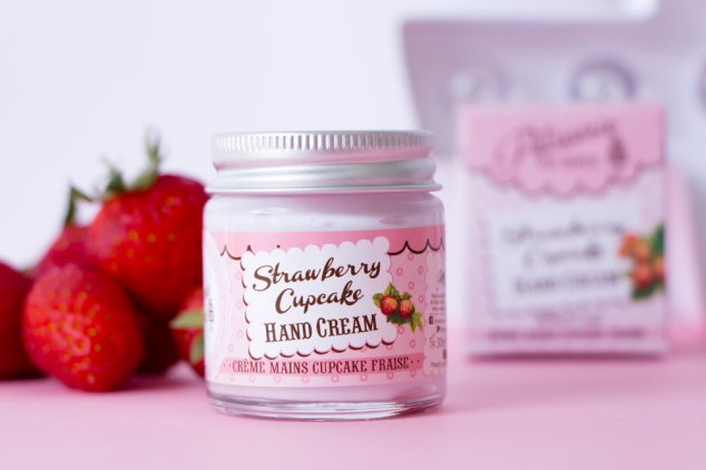 Patisserie De Bain Strawberry Cupcake Handcream