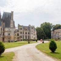 Découverte du Château de Fontaine Henry en Normandie