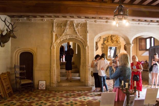 visite en famille chateau