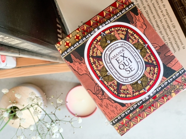 Bougie Parfumee Amande Exquise Diptyque de la Collection de Noel