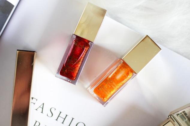nouveautés clarins huile éclat minute pour les lèvres en édition limitée