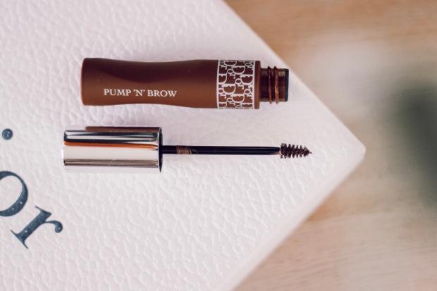 Avis sur la brosse du mascara Diorshow Pump'n'Brow