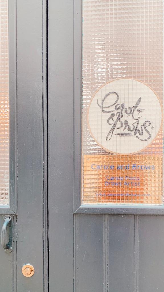 Carole and Brows Avenue Ledru Rollin Paris