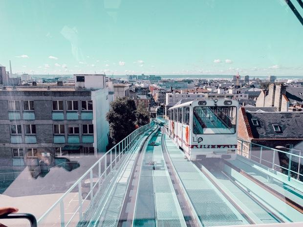 Lieu de tournage en normandie le funiculaire Le Havre