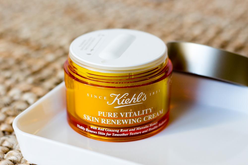 Pure Vitality Skin Renewing Cream de chez Kiehl's : premières impressions et avis